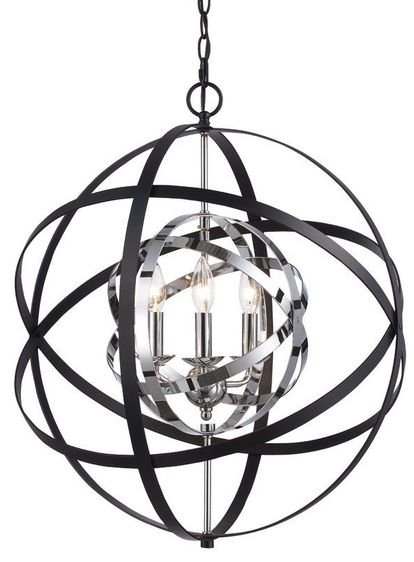 Alden 3 Light Single Globe Pendants With Preferred Rhinecliff 3 Light Globe Pendant (View 6 of 30)