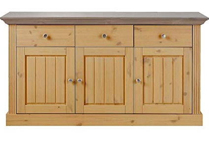 Alegre Sideboards Within Most Up To Date Aprodz Solid Wood Alegre Sideboard Storage Cabinet For (View 6 of 20)
