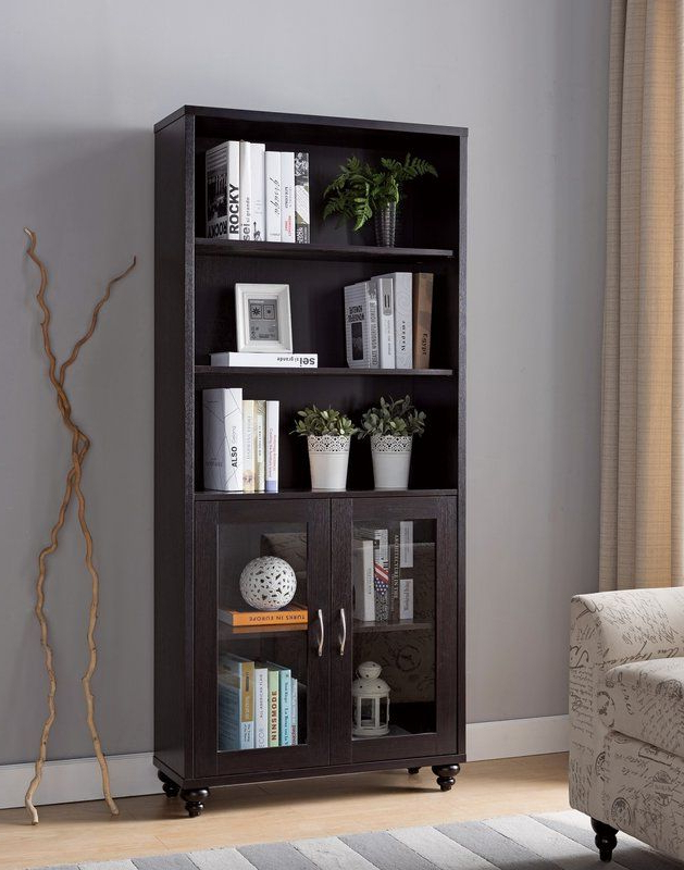 Alexandre Contemporary Standard Bookcase In 2019 Pertaining To Widely Used Decorative Standard Bookcases (Gallery 3 of 20)