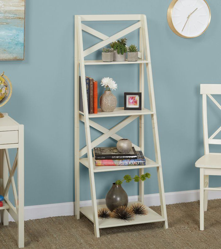 Alfred Ladder Bookcase In (View 6 of 20)