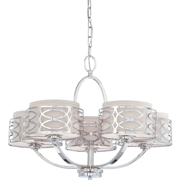 Allmodern Intended For 2020 Aadhya 5 Light Drum Chandeliers (View 10 of 30)