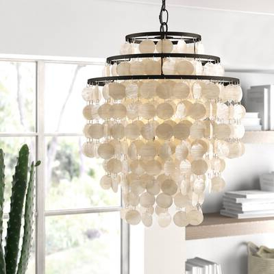 Allmodern Intended For Most Up To Date Hatfield 3 Light Novelty Chandeliers (View 8 of 30)