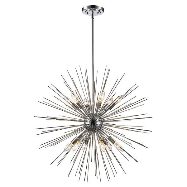 Allmodern Regarding Preferred Asher 12 Light Sputnik Chandeliers (View 26 of 30)