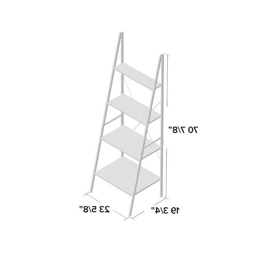 Almanzar Ladder Bookcase Regarding Latest Almanzar Ladder Bookcases (Gallery 13 of 20)