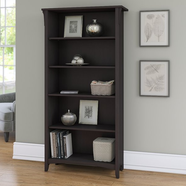Almanzar Ladder Bookcasemercury Row Low Priceblack Bookcases Intended For Most Up To Date Herrin 2 Tier Standard Bookcases (View 20 of 20)