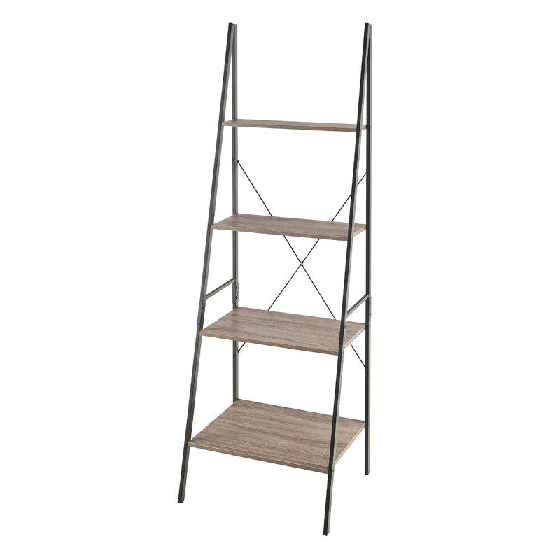 Almanzar Ladder Bookcases Throughout Most Recently Released Almanzar Ladder Bookcase (Gallery 2 of 20)