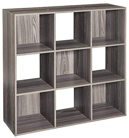 Amazon: 9 Cube Organizer Cubeicals Open Storage Bin With 2019 Decorative Storage Cube Bookcases (Gallery 4 of 20)