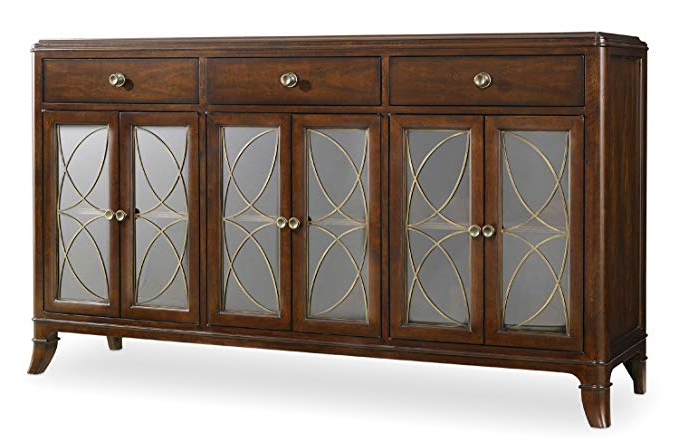 Amazon – Hooker Furniture Palisade Buffet In Walnut With Well Liked Palisade Sideboards (View 2 of 20)