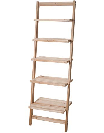 Amazon Intended For Ranie Ladder Bookcases (Gallery 12 of 20)
