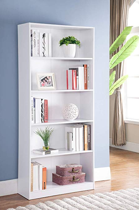 Amazon: Major Q Modern Contemporary Design Standard 71 Throughout Well Liked Decorative Standard Bookcases (Gallery 9 of 20)