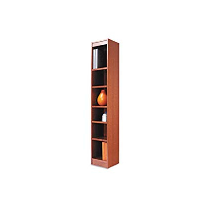 "Amazon: Narrow Profile 72"" Standard Bookcase, Free Intended For Fashionable Narrow Profile Standard Cube Bookcases (Gallery 1 of 20)"