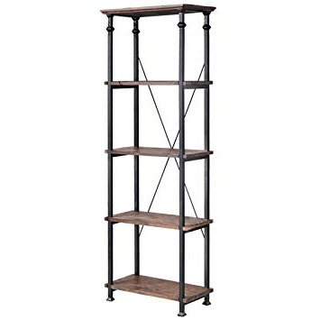 Amazon: Stein World Furniture Metal Étagère/bookcase Pertaining To Fashionable Hera Etagere Bookcases (View 19 of 20)