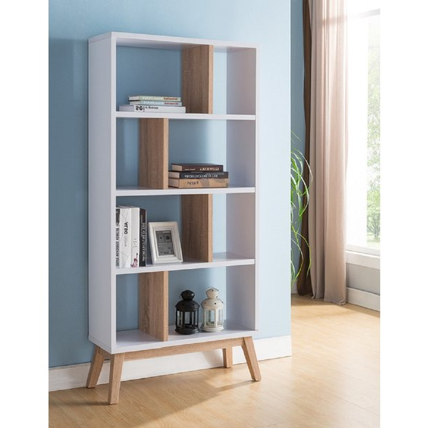 Annabesook Etagere Bookcases Regarding 2020 Falco Modern Contemporary Design Display Standard Bookcasegeorge Oliver (View 7 of 20)