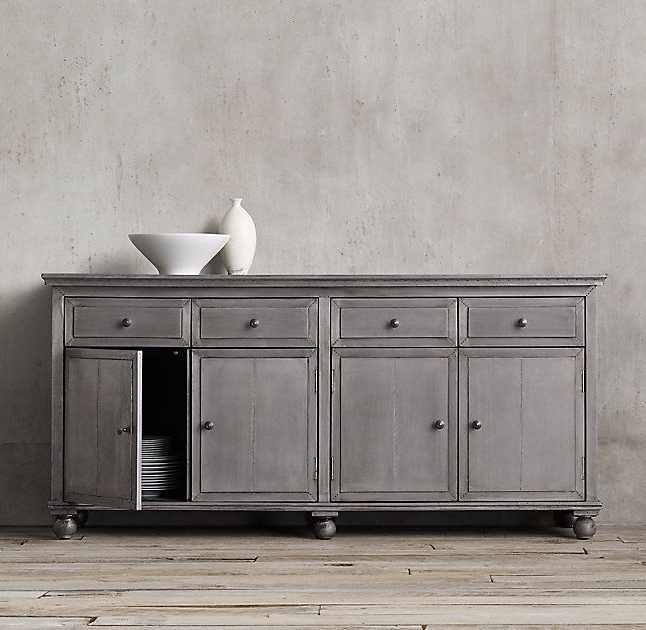 Annecy Sideboards With Preferred Annecy Metal Wrapped Panel Large Sideboard (Gallery 16 of 20)