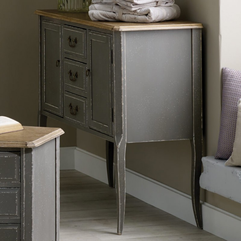 Annecy Sideboards Within Latest Annecy French Grey Sideboard (View 7 of 20)