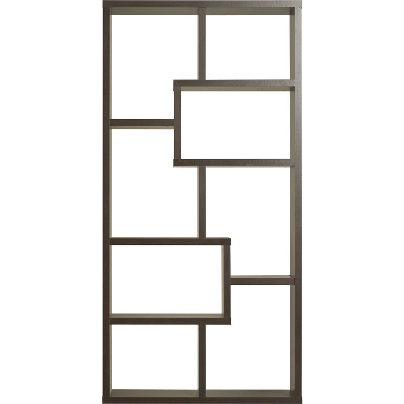 Ansley Geometric Bookcase Pertaining To 2020 Ansley Geometric Bookcases (Gallery 5 of 20)