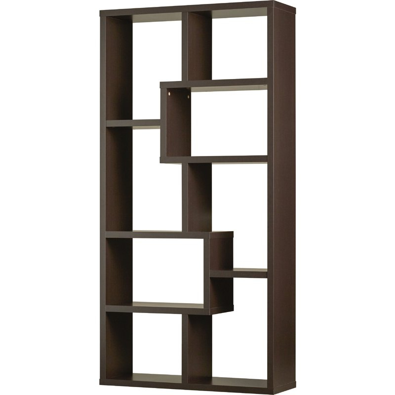 Ansley Geometric Bookcase Pertaining To Trendy Ansley Geometric Bookcases (View 3 of 20)