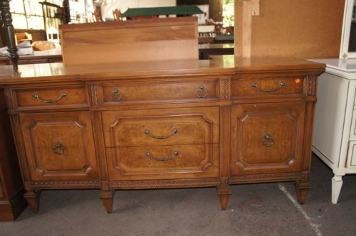 Antique Mount Airy Table Co Credenza Sideboard Buffet Regarding Trendy Sayles Sideboards (Gallery 17 of 20)