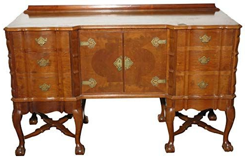 Antiques Consigned C1950 Vintage Mahogany Dining Room Buffet With 2020 Dillen Sideboards (Gallery 16 of 20)