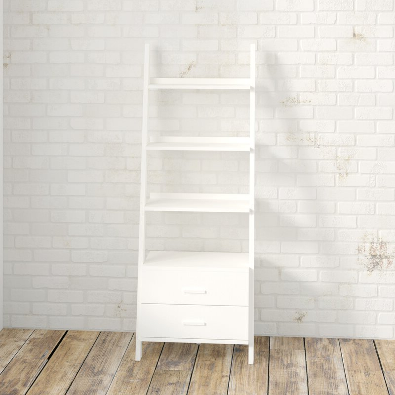 Antoninus Ladder Bookcase Intended For Well Known Antoninus Ladder Bookcases (Gallery 9 of 20)