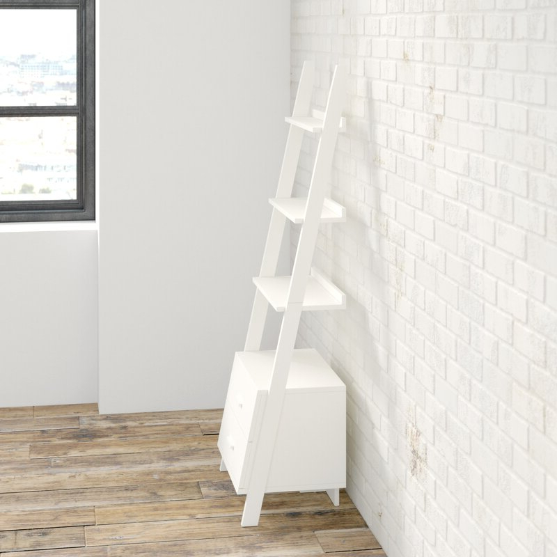 Antoninus Ladder Bookcases For Trendy Antoninus Ladder Bookcase (Gallery 10 of 20)
