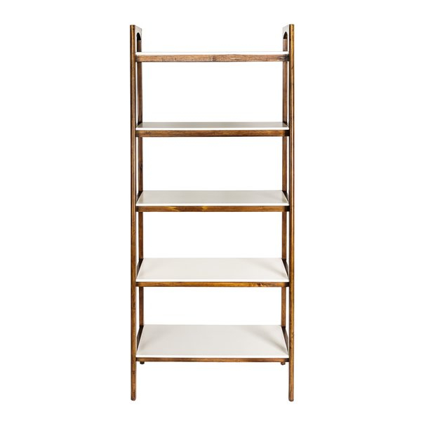 Antoninus Ladder Bookcases Pertaining To Most Recent Modern & Contemporary Corner Ladder Shelf (View 8 of 20)
