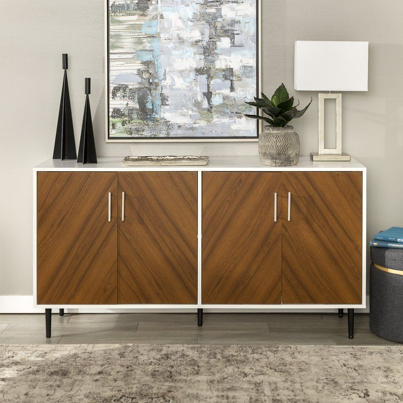Apartment For 2020 Keiko Modern Bookmatch Sideboards (Gallery 7 of 20)