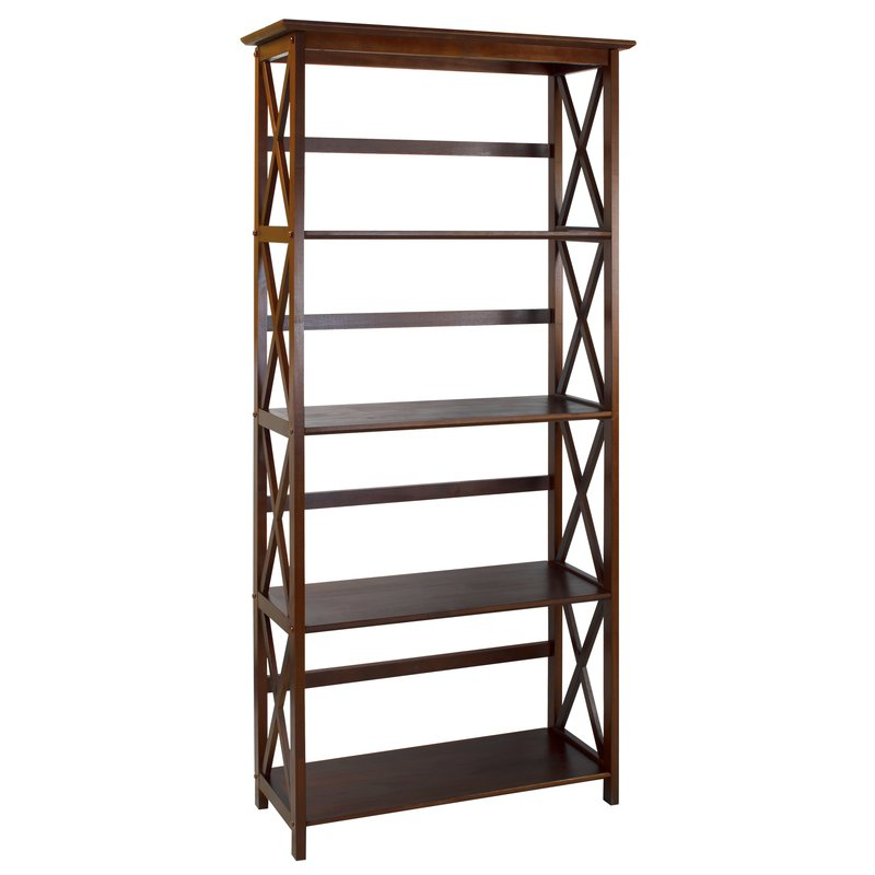 Ardenvor Etagere Standard Bookcases In Most Current Hitz Etagere Bookcase (View 3 of 20)