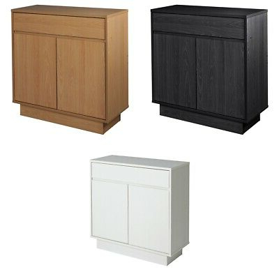 Argos Home Cubes 2 Door 1 Drawer Small Sideboard – Choice Of Colour (View 2 of 20)