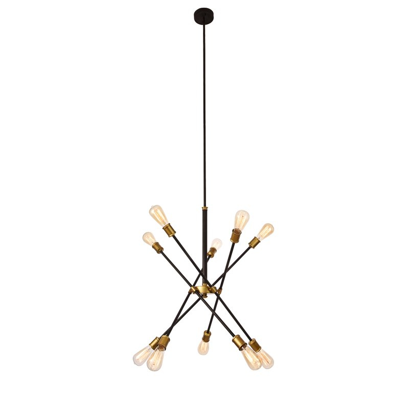 Asher 12 Light Sputnik Chandeliers Within Preferred Everett 10 Light Sputnik Chandelier (View 7 of 30)