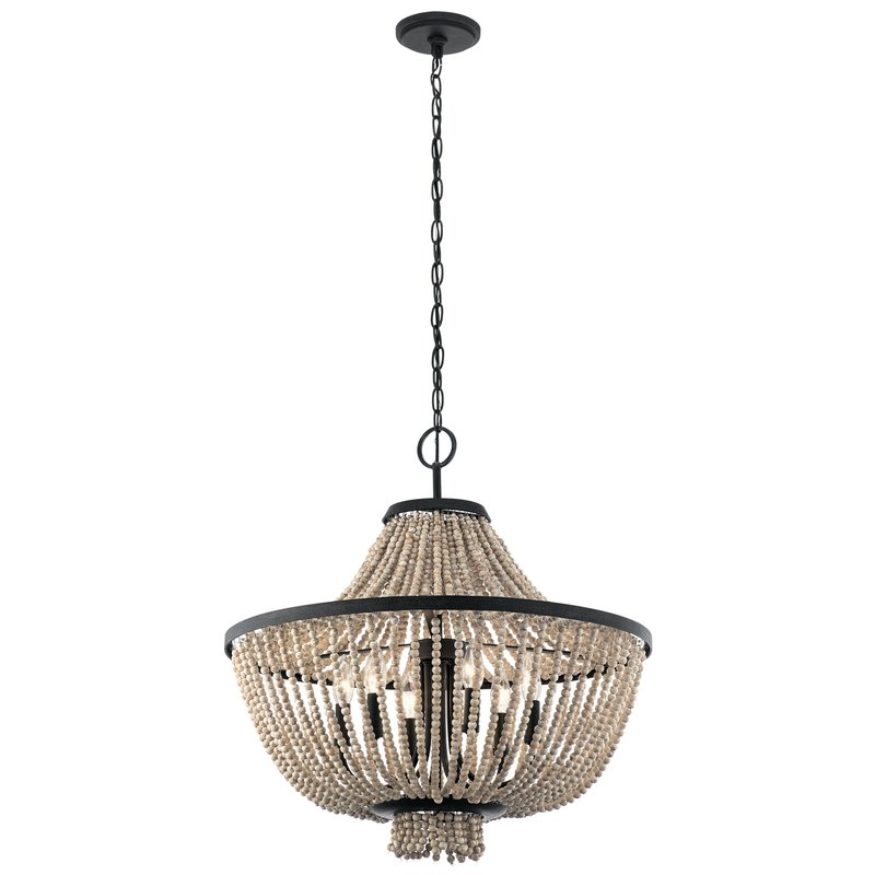 Atkinson 6 Light Empire Chandelier For Newest Nehemiah 3 Light Empire Chandeliers (Gallery 22 of 30)