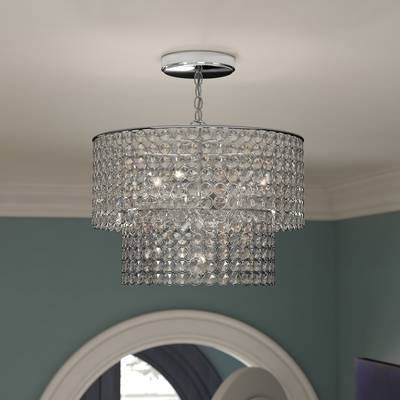 Aurore 4 Light Crystal Chandeliers With 2019 Aurore 4 Light Crystal Chandelier (View 8 of 30)