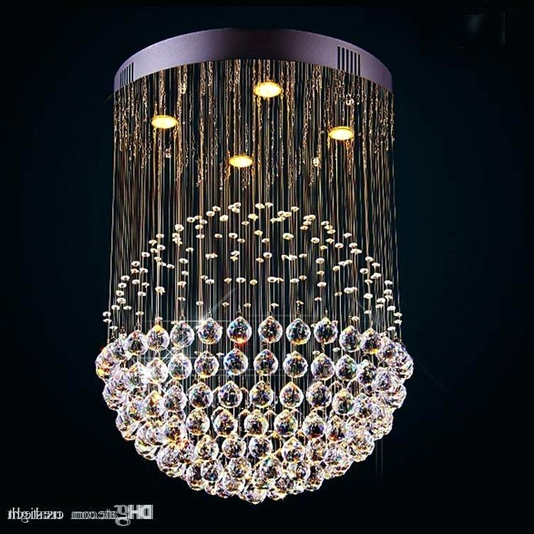 Aurore 4 Light Crystal Chandeliers Within Famous Cheap Crystal Chandelier – Agendamacher (View 12 of 30)