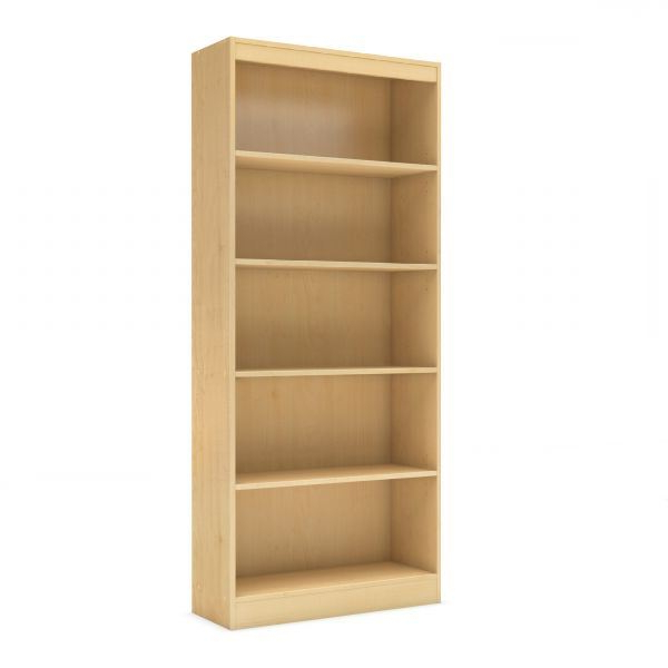 Axess 5 Shelf Bookcase *d For Fashionable Axess Standard Bookcases (Gallery 13 of 20)