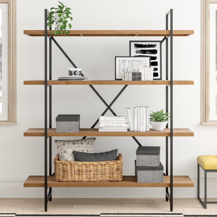 Babbitt Etagere Bookcases With Regard To Best And Newest Champney Modern Etagere Bookcase (View 5 of 20)