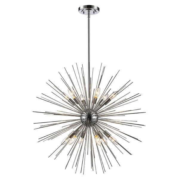 Bacchus 12 Light Sputnik Chandeliers Inside Preferred Modern & Contemporary Byler 12 Light (View 19 of 30)