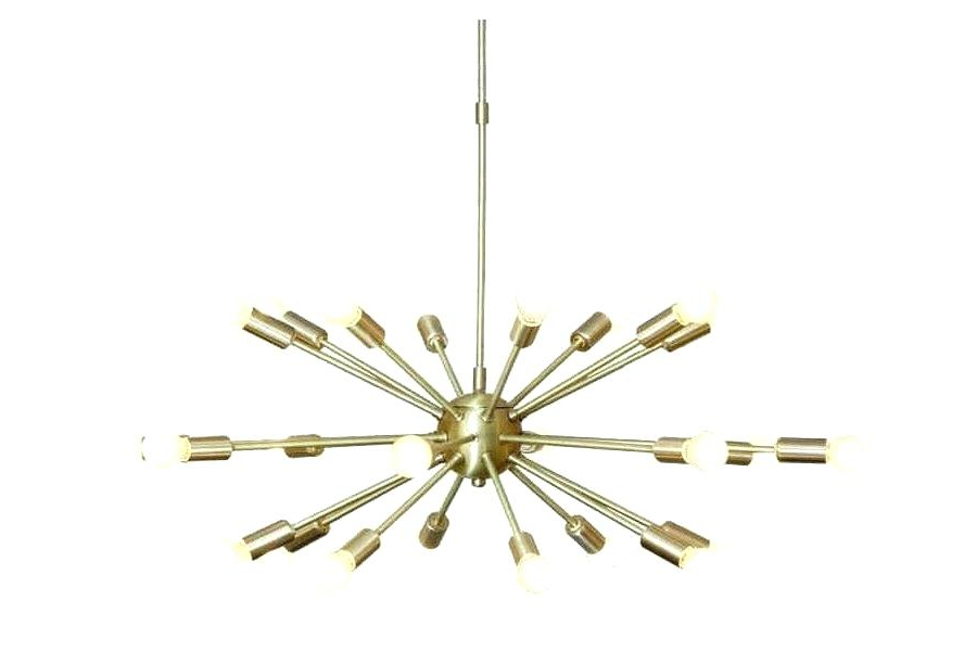 Bautista 5 Light Sputnik Chandeliers In Most Recently Released Light Bulbs For Sputnik Chandelier – Seanmccall (View 22 of 30)