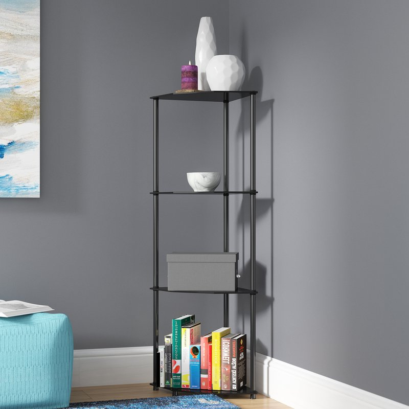 Beckett Corner Bookcases Intended For Popular Beckett Corner Bookcase (View 10 of 20)