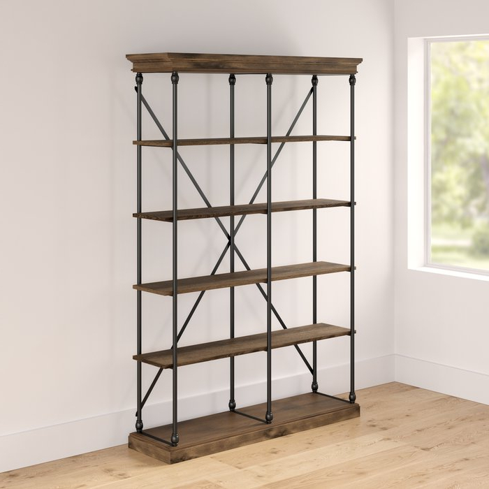 Beckwith Etagere Bookcase For Most Up To Date Beckwith Etagere Bookcases (Gallery 2 of 20)