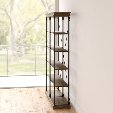 Beckwith Etagere Bookcases In Well Known Beckwith Etagere Bookcase (View 16 of 20)