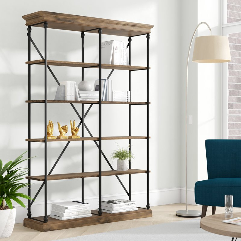 Beckwith Etagere Bookcases Throughout Latest Beckwith Etagere Bookcase (View 1 of 20)