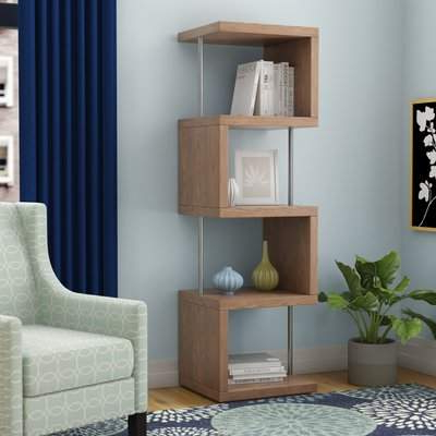 Belafonte Geometric Bookcase Regarding 2020 Ervin Geometric Bookcases (View 2 of 20)