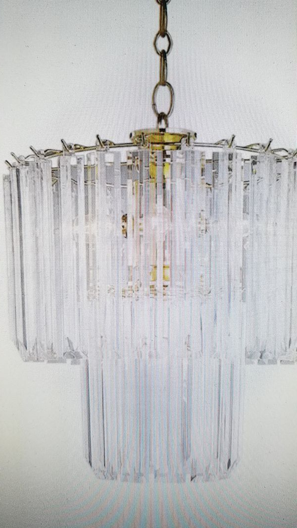 Benedetto 5 Light Crystal Chandelier New For Sale In Opa Locka, Fl – Offerup Regarding Most Up To Date Benedetto 5 Light Crystal Chandeliers (Gallery 4 of 30)