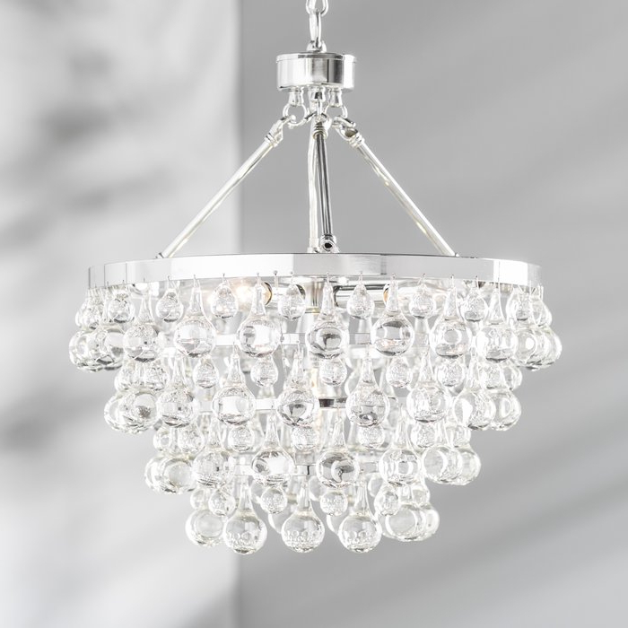 Benedetto 5 Light Crystal Chandeliers Pertaining To Latest Ahern 5 Light Crystal Chandelier (View 11 of 30)
