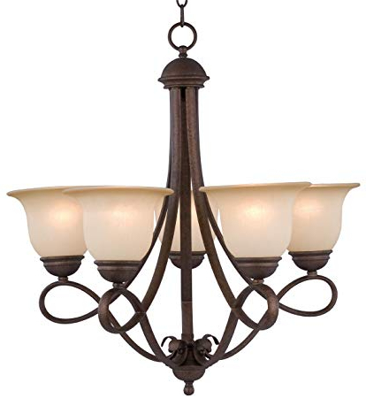 Bennington 4 Light Candle Style Chandeliers With Preferred Hardware House 10 0717 Bennington Chandelier, Antique Bronze (View 9 of 30)