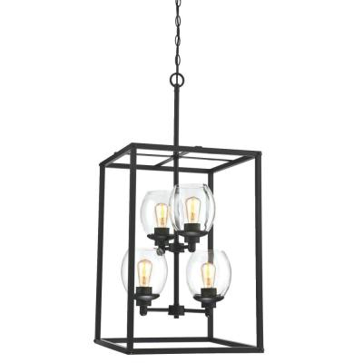 Best And Newest Alayna 4 Light Shaded Chandeliers For Westinghouse – Chandeliers – Lighting – The Home Depot (View 18 of 30)