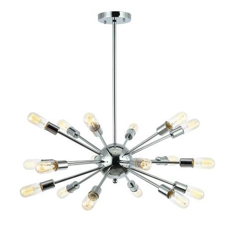 Best And Newest Bacchus 12 Light Sputnik Chandeliers Inside Vroman 12 Light Sputnik Chandelier (View 29 of 30)