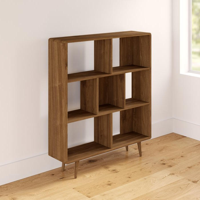 Best And Newest Chantilly Geometric Bookcases In Chapple Geometric Bookcase (View 2 of 20)