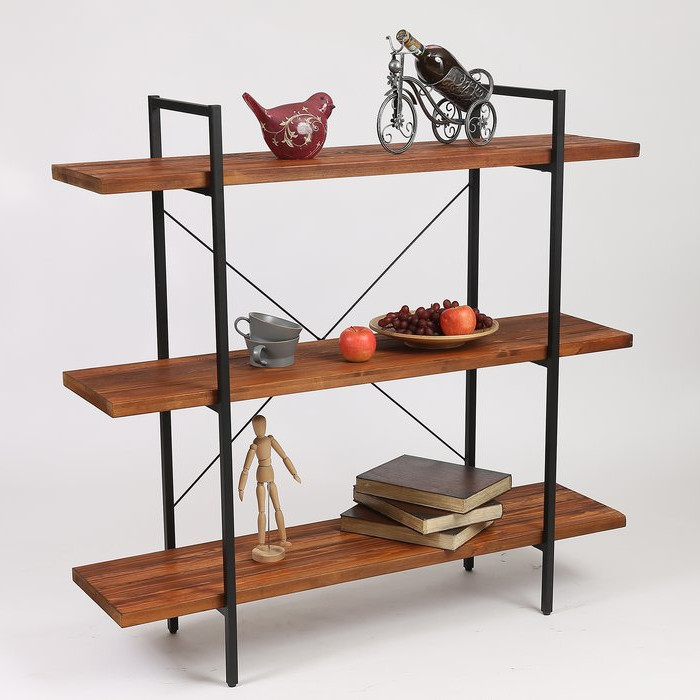 Best And Newest Earline Etagere Bookcases Intended For Carnearney Etagere Bookcase (Gallery 9 of 20)