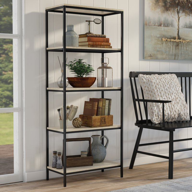 Best And Newest Ermont Etagere Bookcases For Laurel Foundry Modern Farmhouse Ermont Etagere Bookcase (Gallery 1 of 20)